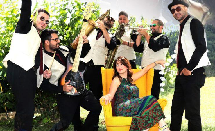 Saxobar Swing & Twist Orchestra Diamante, Knock out 12.8.2019