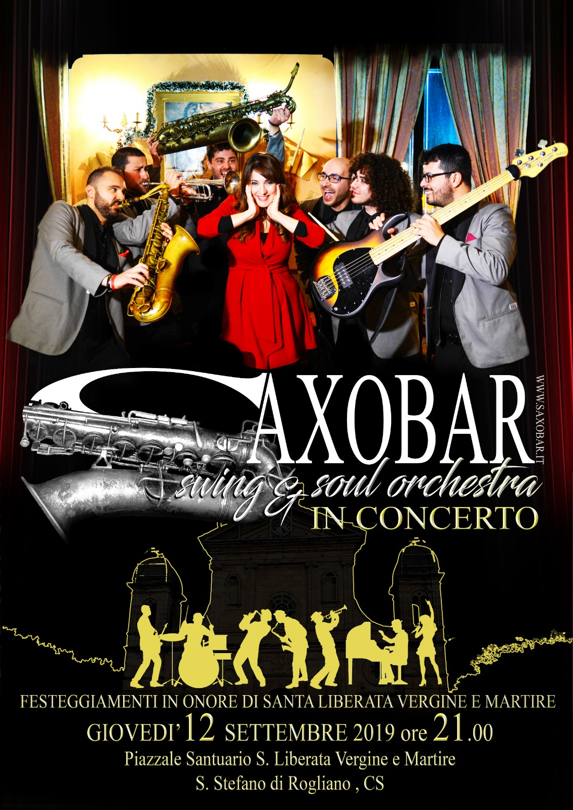 Saxobar gruppo di piazza Rogliano