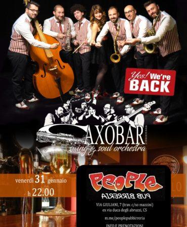 Saxobar @ People Pub di Cosenza