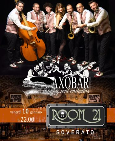 Saxobar @ Room21 10.01.2020