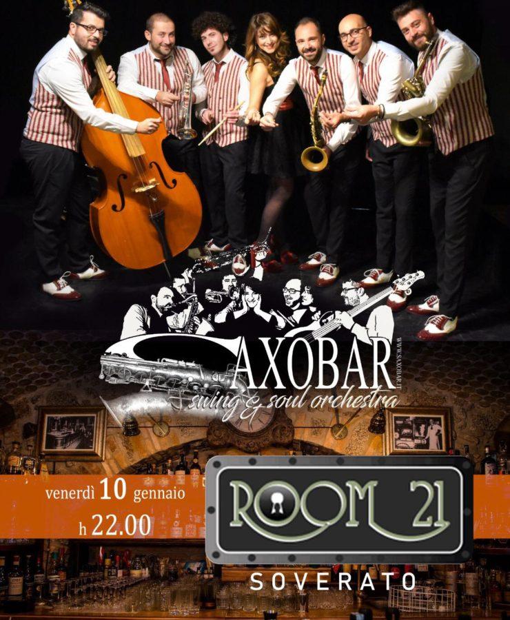 Saxobar @ Room21 10.01.2020