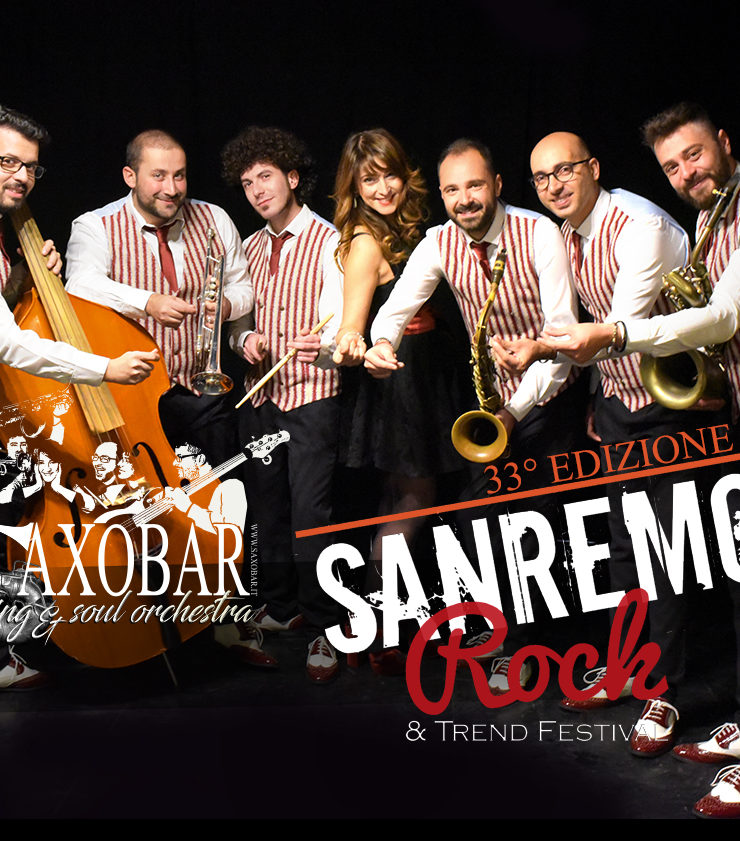 Saxobar finalista al Sanremo Rock 2020