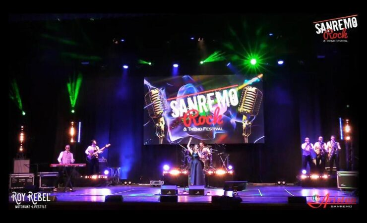 Saxobar al Teatro Ariston di Sanremo